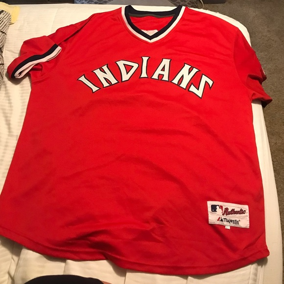 size 40 23834 ff354 Cleveland Indians Majestic Jersey-Jim Thome